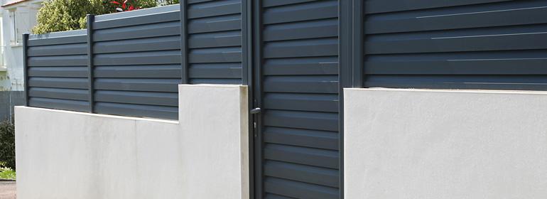 Prix d'une clôture aluminium