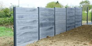 Prix d'une clôture béton