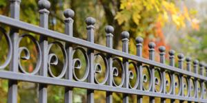 Prix d'une clôture en fer forgé
