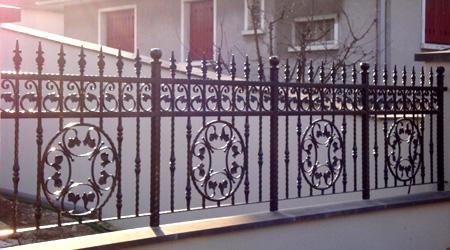 Prix clôture fer forgé