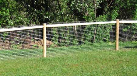 Prix d'une clôture grillage fin