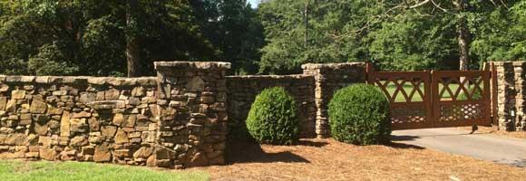 Prix d'une clôture en pierre