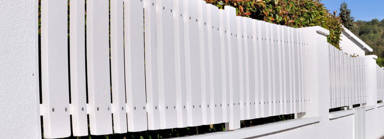 Prix d'une clôture PVC