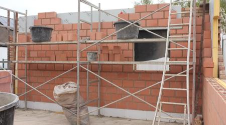 Prix d'une construction de garage en brique
