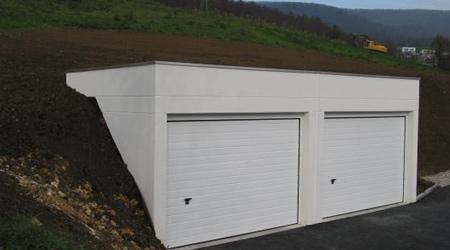 Prix d'une construction de garage enterré