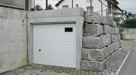 Prix d'une construction de garage semi-enterré