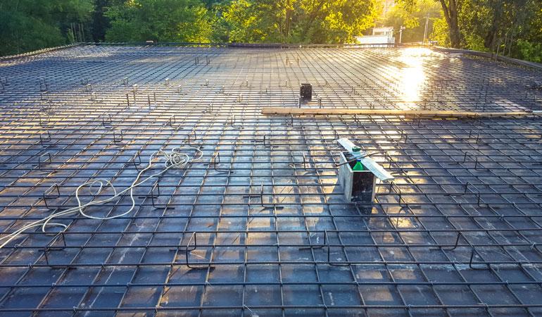Coût d'une dalle en béton au m² selon les éléments