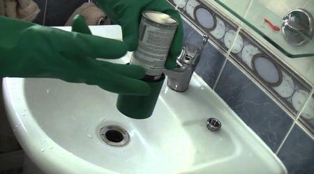 Prix d'un débouchage de canalisation chimique