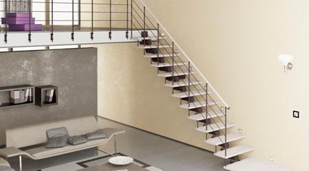 Prix d'un escalier en acier