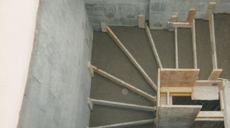 Prix d'un escalier béton coulé