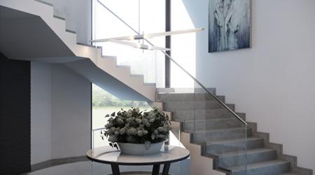 Prix d'un escalier béton usine