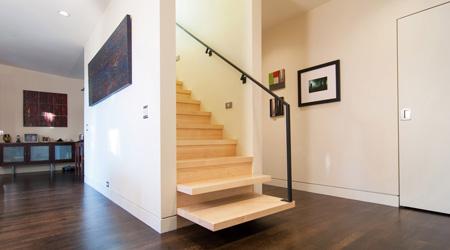 Prix d'un escalier bois en frêne ou érable