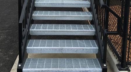 Prix d'un escalier extérieur en métal