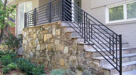 Prix d'un escalier extérieur en pierre