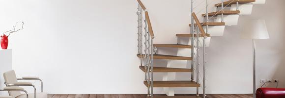 prix d 39 un escalier quart tournant co t de r alisation tarif de pose. Black Bedroom Furniture Sets. Home Design Ideas