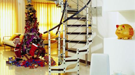 Prix d'un escalier sur mesure en métal