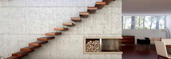 Prix d'un escalier suspendu
