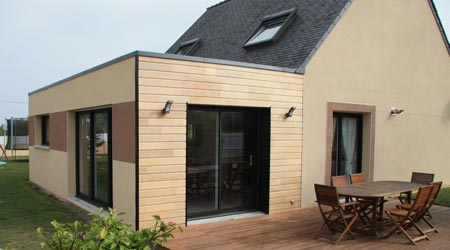 Prix d 39 une extension de maison co t de construction for Cout construction garage 20m2