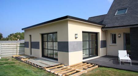Prix d 39 une extension de maison co t de construction for Cout agrandissement garage