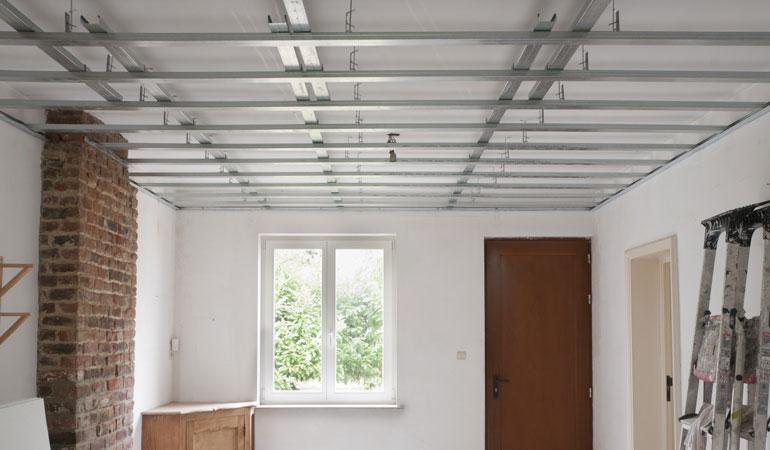 Prix d'un faux plafond suspendu