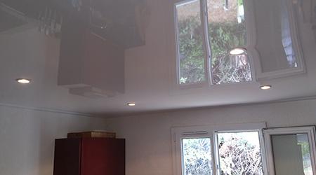 Excellent prix faux plafond tendu with faire un faux for Prix pose faux plafond