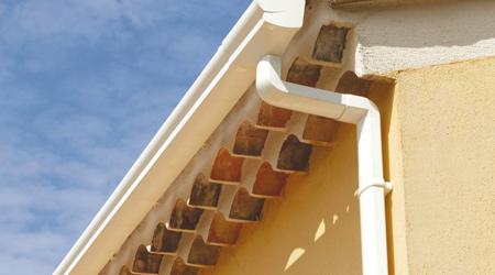 Prix d'une gouttière carrée en PVC
