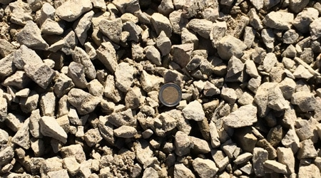 Prix d'un gravier pour couche de fondation
