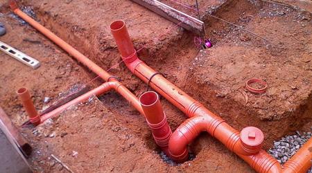 Prix d'une installation eaux usées