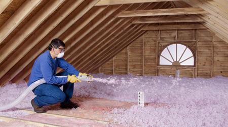 Prix d'une isolation de toiture en vrac