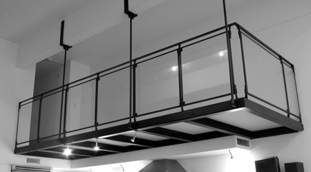 Prix d'une mezzanine suspendue
