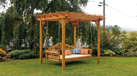 prix d 39 une pergola en bois tarif moyen co t de construction. Black Bedroom Furniture Sets. Home Design Ideas