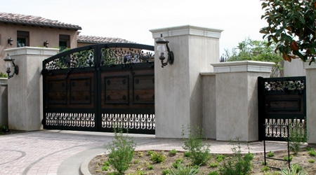 Prix d'un pilier de portail en béton