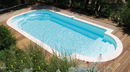 Prix d 39 une piscine coque co t moyen tarif d for Tarif piscine enterree