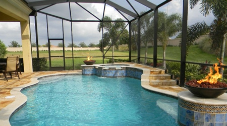 prix dune piscine couverte fixe