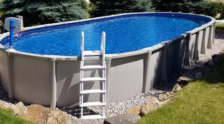 Prix d 39 une piscine hors sol co t moyen tarif de pose for Eau verte piscine hors sol