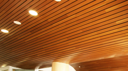 Prix d'un plafond suspendu en lambris