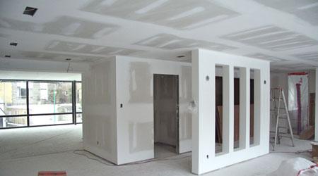 Prix d 39 un plafond suspendu co t moyen tarif de pose - Refaire un plafond en placo ...