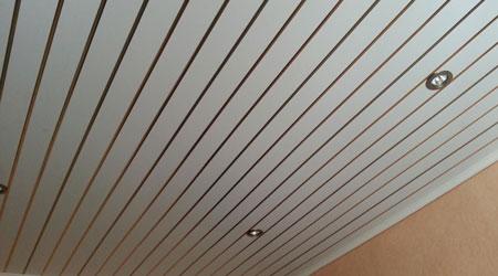 Prix d'un plafond suspendu en PVC