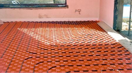 Prix d'un plancher chauffant électrique à accumulation