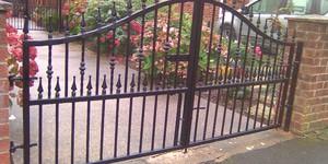 Prix d'un portail en fer forgé