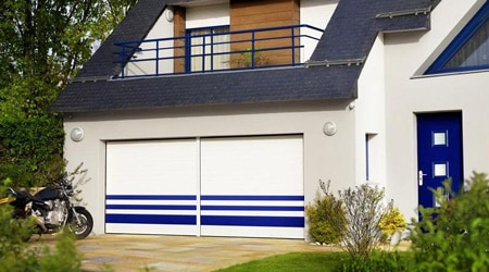 Prix d 39 une porte blind e co t moyen tarif d 39 installation for Cout porte garage