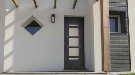 Prix d'une porte d'entrée aluminium