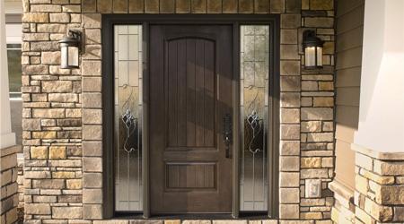 Prix d 39 une porte d 39 entr e bois co t moyen tarif de pose - Reparer une porte d entree en bois ...