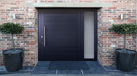 prix d 39 une porte d 39 entr e aluminium co t moyen tarif. Black Bedroom Furniture Sets. Home Design Ideas