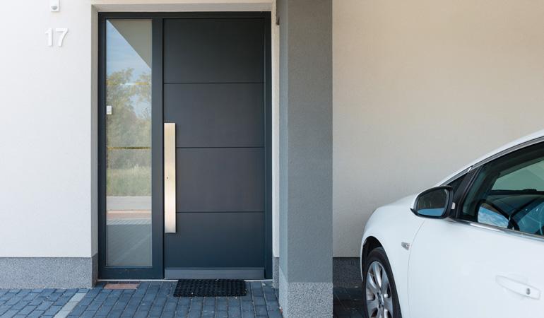 Tarif d'une porte d'entrée selon les styles