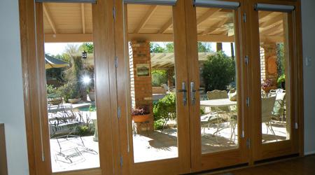 Prix d'une porte fenêtre bois à frappe