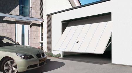 Prix d'une porte de garage basculante débordante