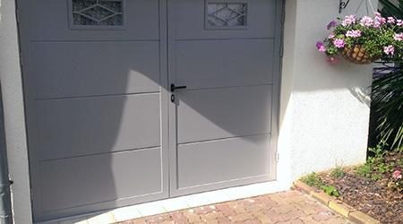 Prix d 39 une porte de garage co t moyen tarif d for Porte de garage prix belgique