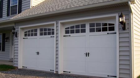 Prix d'une porte de garage électrique à bras articulés