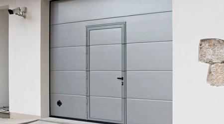 Prix d'une porte de garage avec portillon